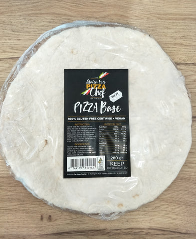 THE GLUTEN FREE LAB VEGAN PIZZA BASE 280g
