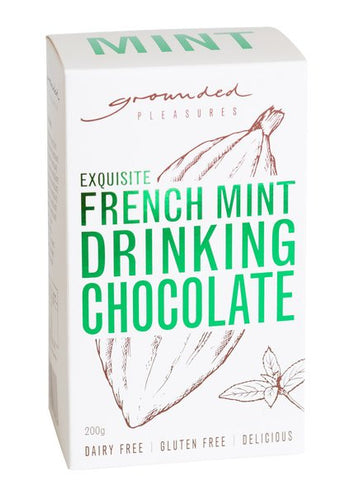 GROUNDED PLEASURES DRINKING CHOCOLATE MINT