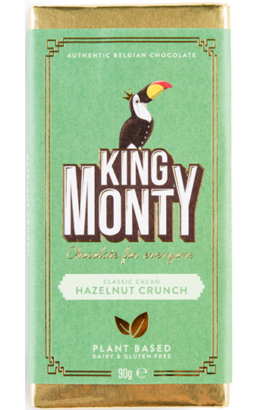 KING MONTY HAZELNUT CRUNCH CHOCOLATE
