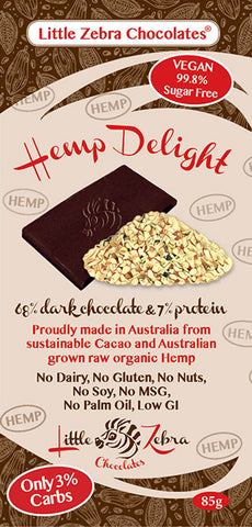 LITTLE ZEBRA CHOCOLATE HEMP DELIGHT