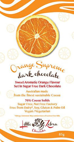 LITTLE ZEBRA CHOCOLATE ORANGE SUPREME