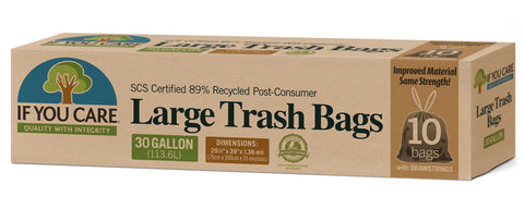 IF YOU CARE LARGE TRASH BAGS
