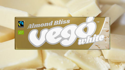 ALMOND BLISS VEGO WHITE CHOCOLATE BAR
