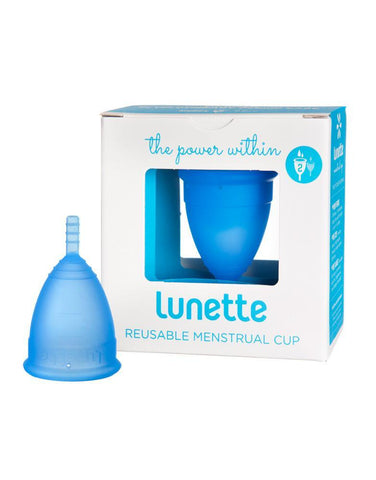 LUNETTE MENSTRUAL CUP MODEL 1 BLUE