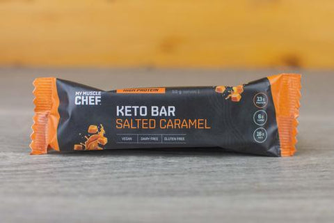 MY MUSCLE CHEF KETO BAR SALTED CARAMEL 50g