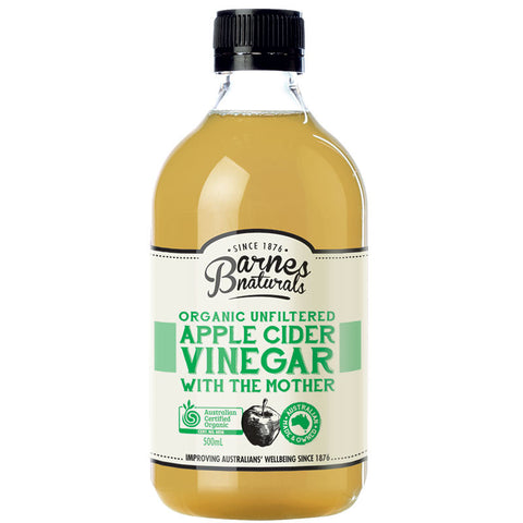 BARNES APPLE CIDER VINEGAR 1L