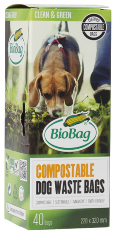 BIOBAG DOGGY WASTE BAG 40 PACK