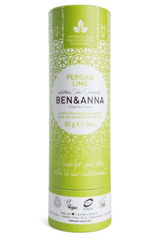 BEN & ANNA PERSIAN LIME NATURAL DEODORANT 60g