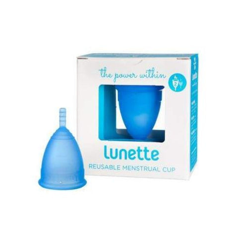 LUNETTE MENSTRUAL CUP MODEL 2 BLUE