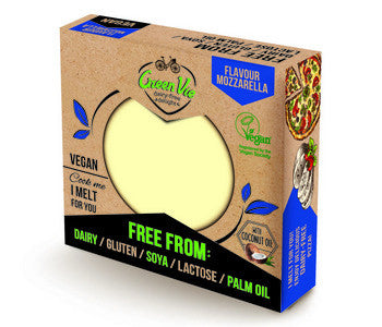 GREEN VIE MOZZARELLA STYLE CHEESE BLOCK 250g
