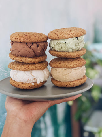 ROHO BURE ICE CREAM SANDWICH CASHEW CREAM HONEYCOMB COOKIE