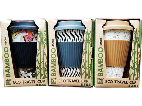 LUVIN LIFE BAMBOO ECO TRAVEL CUP