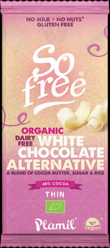 SO FREE ORGANIC WHITE CHOCOLATE