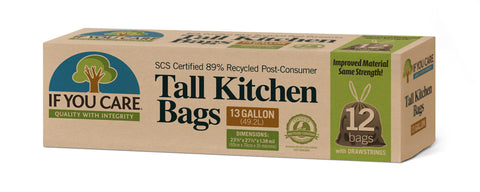 IF YOU CARE TALL KITCHEN BAGS