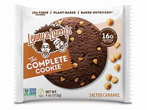 LENNY & LARRY'S SALTED CARAMEL COMPLETE COOKIE 113g