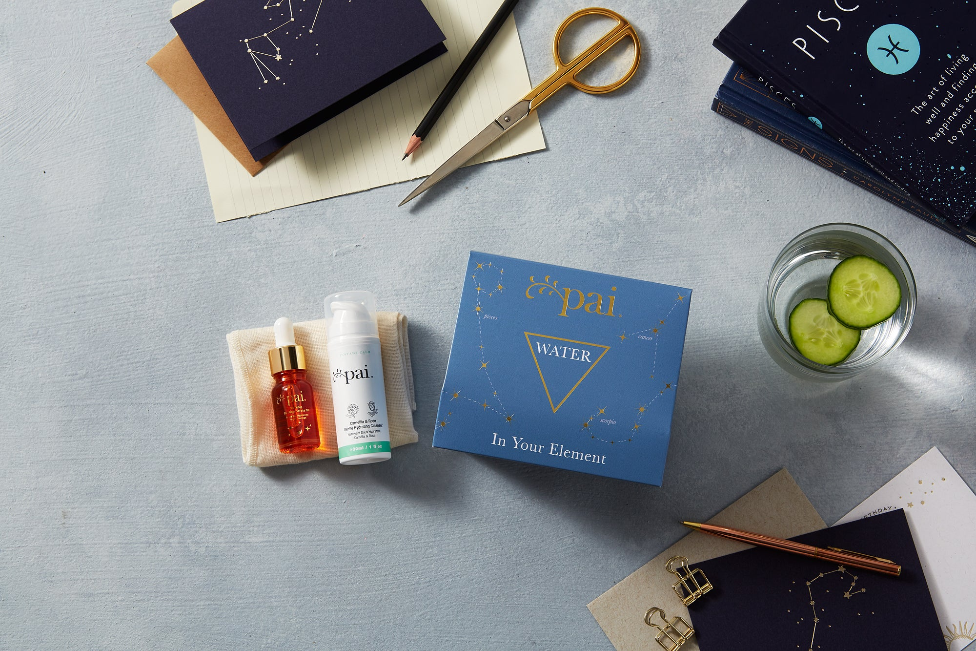 Water: In Your Element Gift Set