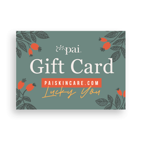 Pai Skincare Gift Card £50 Gift Card