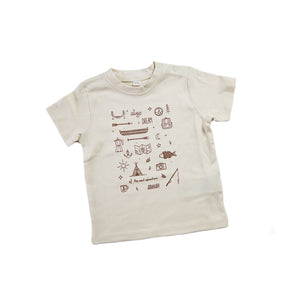 Always Dream Baby Shirt (Organic Natural)