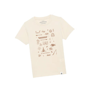 Always Dream Kids T-Shirt (Natural Raw)