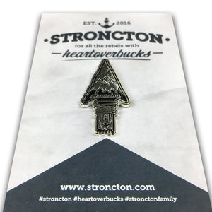 Arrow Adventure Enamel Pin - Stroncton