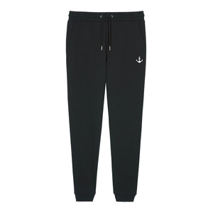 Basic Stitch Jogging Pants (Black)