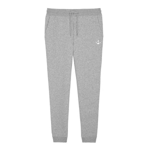 Basic Stitch Jogging Pants (Heather Grey)