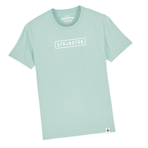 Basic Typo T-Shirt (Caribbean Blue)