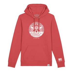 Fred Classic Hoodie (Carmine Red)