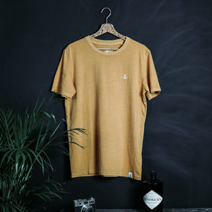 Basic Stitch T-Shirt (D Ochre)