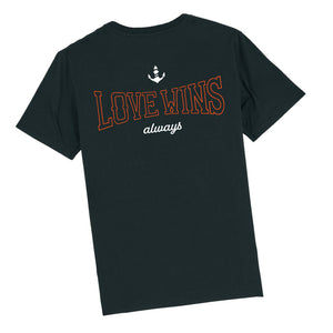 Love Wins T-Shirt (Black)
