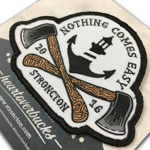 Nothing Comes Easy Patch - Stroncton