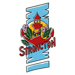 Tropical Vibes T-Shirt - Simple - Stroncton