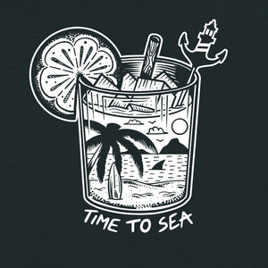 Time To Sea T-Shirt - Stroncton