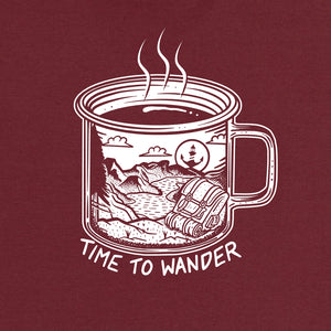 Time To Wander T-Shirt - Stroncton