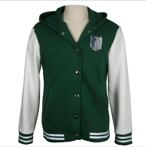 Attack on Titan Hoodie - AnimeBling - 1