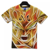 Dragon Ball Z - Super Saiyan Vegeta 3D T Shirt - AnimeBling - 2