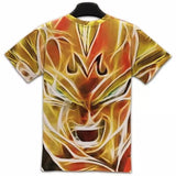 Dragon Ball Z - Super Saiyan Vegeta 3D T Shirt - AnimeBling - 3