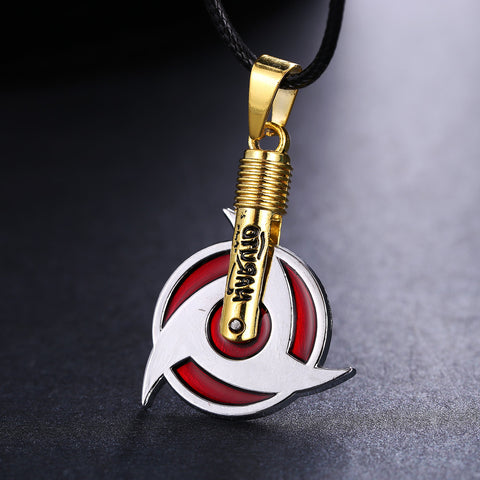 Naruto Necklace - Sharingan 7 Styles - AnimeBling - 1