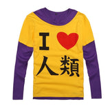No Game No Life Shirt - Sora Cosplay Costume - AnimeBling - 11