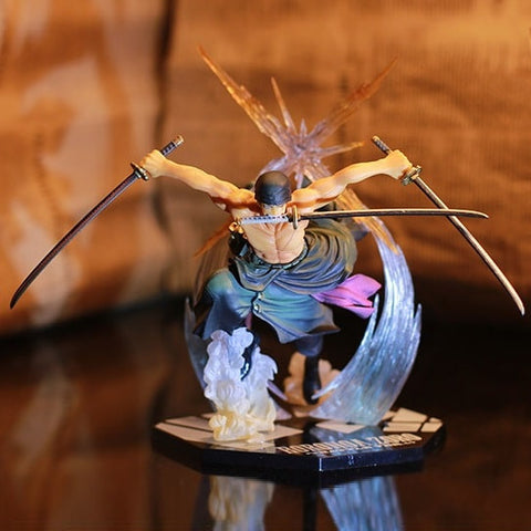 One Piece Action Figure - Roronoa Zoro Combat Pose - AnimeBling - 1