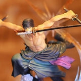 One Piece Action Figure - Roronoa Zoro Combat Pose - AnimeBling - 10