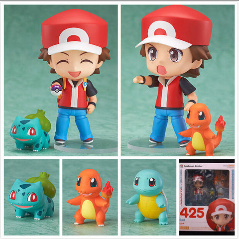 Pokemon Action Figures - 4 Pcs/Set - AnimeBling - 1
