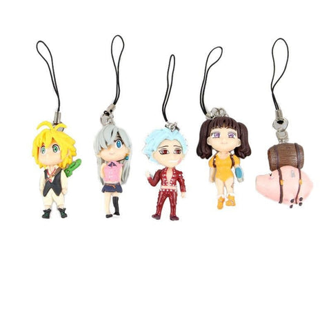 The Seven Deadly Sins Figures - 5 Pcs/Set - AnimeBling - 1