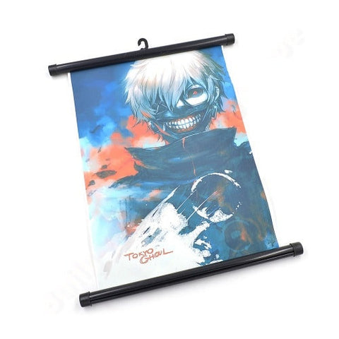 Tokyo Ghoul Wall Scroll - Kaneki Home Decor Poster - AnimeBling - 1
