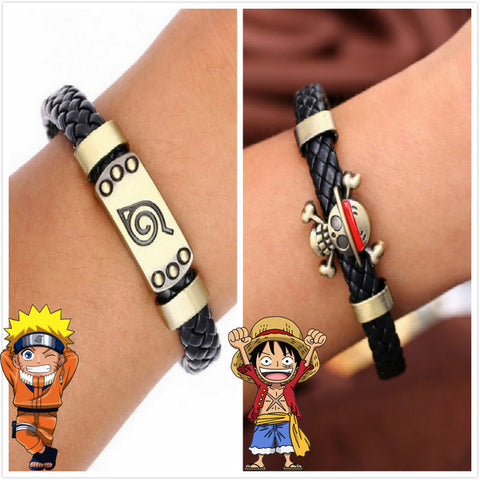 Naruto & One Piece Bracelet - AnimeBling - 1