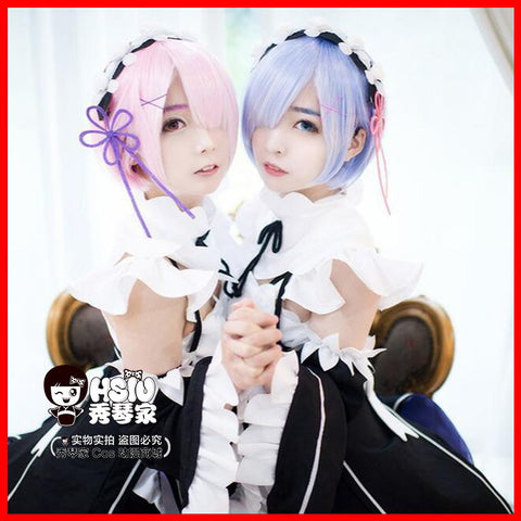 Re:Zero Cosplay - Rem Wig