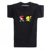 Pokemon T-Shirt - Red & Pikachu - AnimeBling - 1