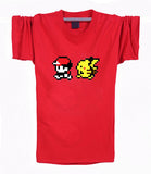 Pokemon T-Shirt - Red & Pikachu - AnimeBling - 6