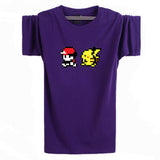 Pokemon T-Shirt - Red & Pikachu - AnimeBling - 7