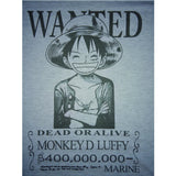 One Piece T-Shirt - Wanted Luffy Shirt - AnimeBling - 5